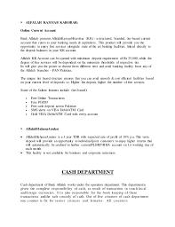 Card One Banking Business Account Bank Alflah Internship Report