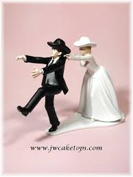 western wedding cake topper cold cowboy wedding cake top groom