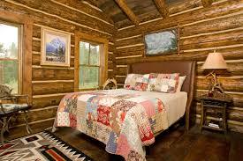Log Cabin Interior Bedroom Log Cabin Decorating Ideas Pinterest In Peculiar Log Home Decor