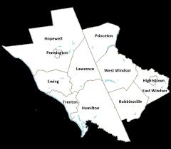 mercer map map of mercer county jersey montana map