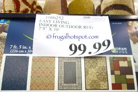 incredible easy living indoor outdoor rug costco sale easy living