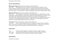 exle of a written resume sle flatbed driver resume cv cover letter within lift