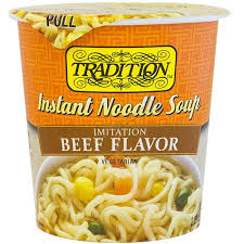 kosher noodles tradition instant noodle soup beef style 2 5 oz kosherfamily