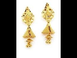 gold earrings design gold earrings designs catalogue 2017
