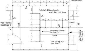 simple house floor plan measurements details home building plans