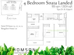 Cluster House Plans Thomson Impressions Quiet Upper Thomson 8100 8444