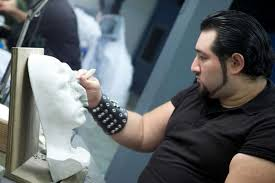 sergio guerra a san antonio based special effects makeup artist with his own business
