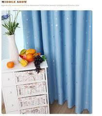 modern stars blackout window curtains for kids boys girls bedding