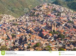 Taxco Mexico Map by Landscape View Of Mexico U0027s Town Taxco De Alarcon Stock Photo