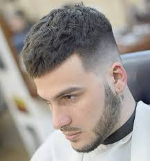 mens hairstyles pulled forward 50 popular ways to wear caesar haircut 2018 ideas