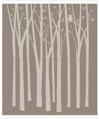 wall murals tree silhouette wall murals you ll love elephants on the wall birch tree silhouette paint by number