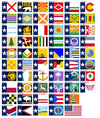 State Flag Of Virginia Every Us State Flag In The Layout Of Texas Album On Imgur