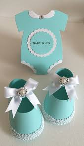 Blue Favors by Baby Shower Shoe Favor Boxes Onesies Robin Egg Blue