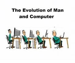 Man On Computer Meme - the evolution of man and computer meme on me me