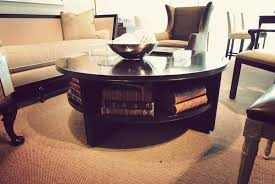 living room delightful round coffee tables with storage for