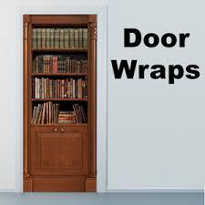 Phone Booth Bookcase Door Wrap Store U2014 Rm Wraps
