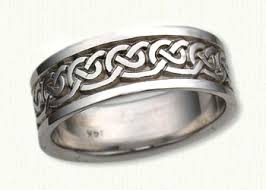 galway ring celtic galway wave knot wedding rings by designet best prices