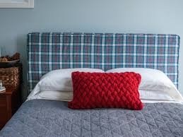 how to sew a slipcover for a headboard how tos diy ci kathy beymer headboard slipcover plaid flannel beauty h