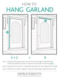 How To Hang Fabric On Walls Without Nails by How To Hang Garland Improvements Blog
