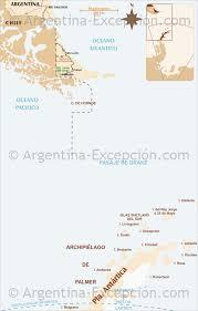 Map Argentina Map Antarctica Argentina