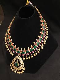 emerald ruby necklace images Ruby emerald necklace design jpg
