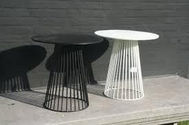 Black Bistro Table Antonino Sciortino Metal Bistro Table Black