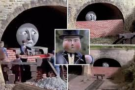 Thomas The Tank Engine Meme - fans notice how horrifying thomas the tank engine is and really