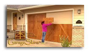 garageskins real wood garage door overlays indiegogo