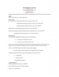 Vfx Jobs Resume by Bus Boy Resume Virtren Com