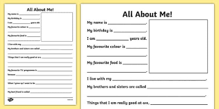 all about me booklet information workbook ourselves book