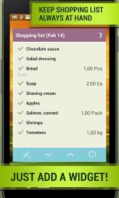 grocery shopping list listick android apps on google