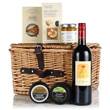 Country Wine Basket Best 25 Cheese And Wine Hampers Ideas On Pinterest Cheese