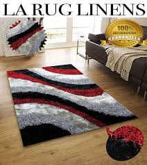 la rug linens huge blowout sale 5x7 red black silver titanium dark