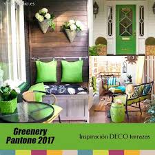 greenery pantone color 2017 inspiración decoración para jardines
