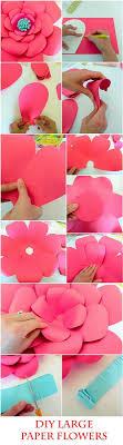 wedding backdrop tutorial diy paper flowers easy backdrop flower tutorial with