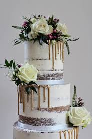 wedding cake with gold drip cake ideas pinterest