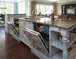 kitchen island sink dishwasher easy cleaning tips for the kitchen kitchens dishwashers