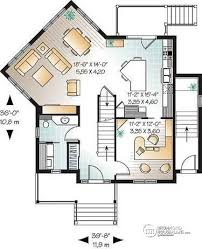 House Plans With Basement Apartments Multi Family Plan W2797b Detail From Drummondhouseplans Com
