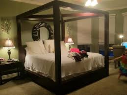 nice canopy bed with curtains modern wall sconces and bed ideas image of canopy bed with curtains queen size