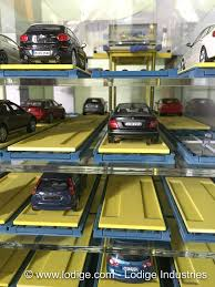 Car Park by Pallet Based Automated Car Parking System Lodige Group