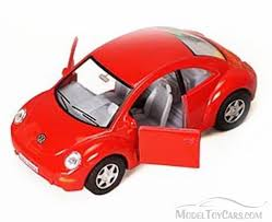 red volkswagen beetle volkswagen new beetle red kinsmart 5028d 1 32 scale diecast