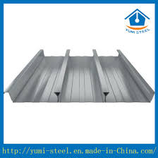 Yumi Floor L China Corrugated Steel Metal Floor Decking Sheets For High Rise