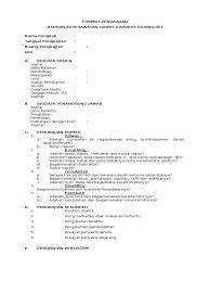 contoh format askep maternitas format pengkajian icu