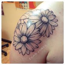 Flower Tattoos On - best 25 flower shoulder tattoos ideas on shoulder