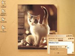 blue cat u0027s graphics desktop themes cats pretty