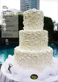 wedding cake surabaya wedding cake 3 tiers by pelangi cake bridestory