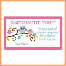 baby shower raffle free printable baby shower raffle tickets template resume