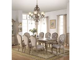 chelmsford dining table in antique taupe 66050