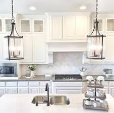 Kitchen Lights Pendant A Trio Of Corsica Pendants Illuminate An Kitchen Island
