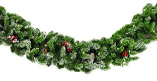 decorative garland hawthorne prelit garland clear lights